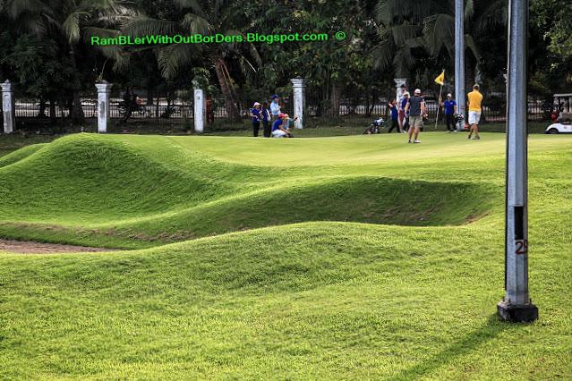 Golf course, Intramuros, Manila, Philippines