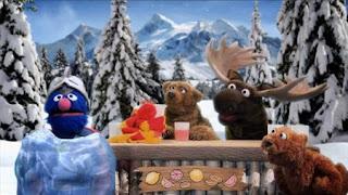 Super Grover 2.0 Lemonade Stand, frozen Super Grover, Sesame Street Episode 4324 Trashgiving Day season 43