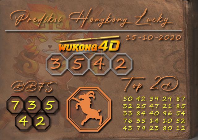 Prediksi Togel HONGKONG LUCKY 7 WUKONG4D 15 OKTOBER 2020