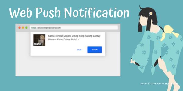 Cara Menambahkan Push Notification Di Blogger