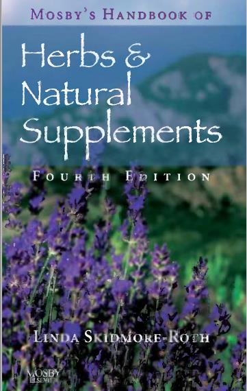 Mosby's Handbook of Herbs & Natural Supplements. Fourth Edition