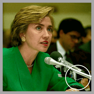 First Lady Hillary Rodham Clinton testifies about healthcare before Congress in 1993.