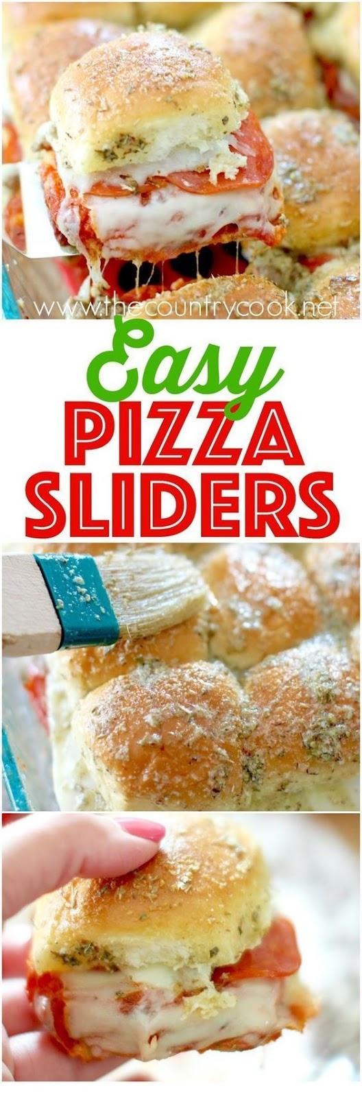 Pizza Pull Apart Sliders
