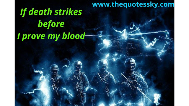100+ Inspiring Indian Army Commando Quotes and Status for Instagram