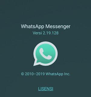 Pembaharuan WhatApp