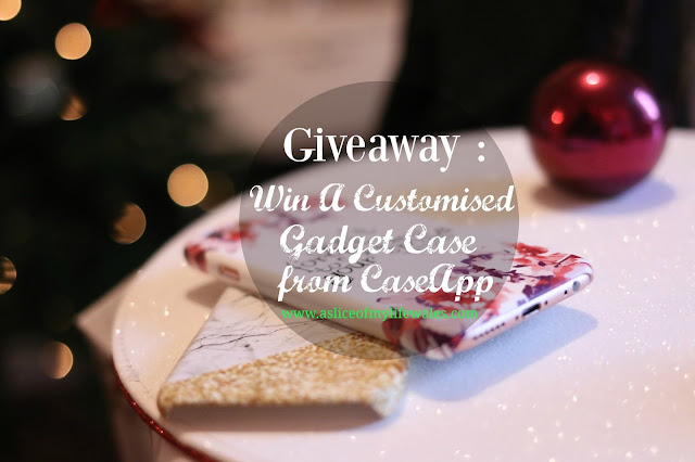 giveaway to win a customised gadget case or cover from Case app - easy to enter competition via rafflecopter form
