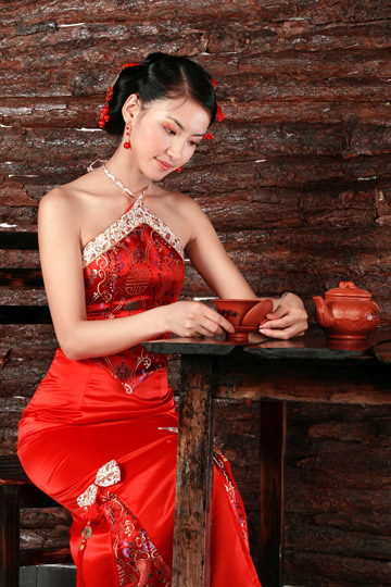 Chinese Bridal Dresses Multi Star