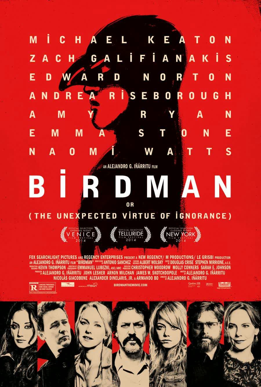 Review dan Sinopsis Film Birdman (2014)