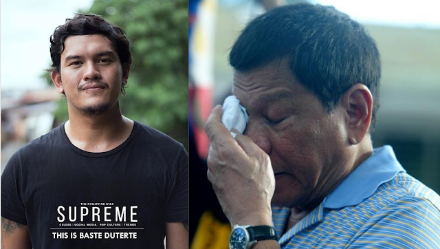 Baste's emotional Father's Day message to Duterte