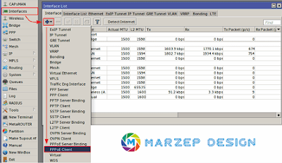 Tutorial Cara Setting PPPoE Client di Router Mikrotik