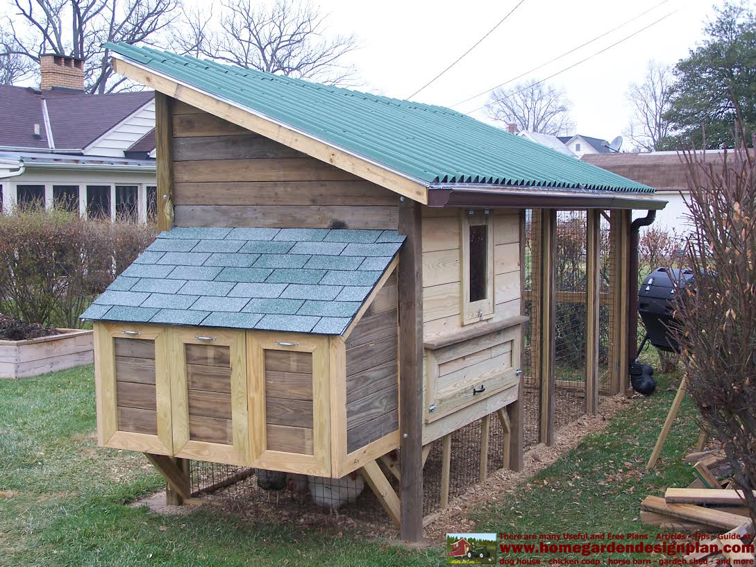 home garden plans: M101 - Building Success - Chicken Coop ...