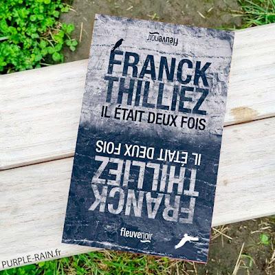 PurpleRain Livre : Il était deux fois • Franck Thilliez