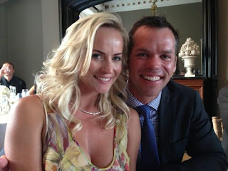Paul Casey With His Wife Polyanna Woodward
