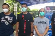 Warga RW 14 Cakung Timur Sterilisasi Virus Corona Dengan Disinfectant Chamber Body