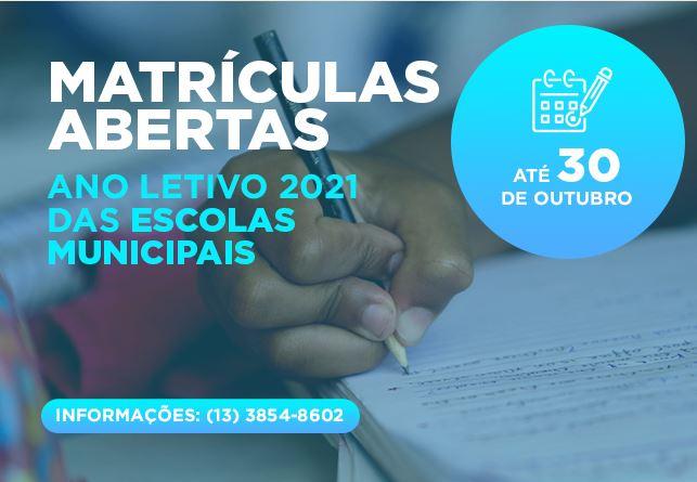 COVID-19: aulas seguem remotas até o final de 2020 e as matrículas das escolas municipais estão abertas para o próximo ano letivo