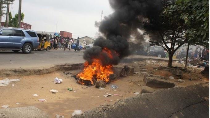 3 Suspected Robbers Burnt Alive In Benue