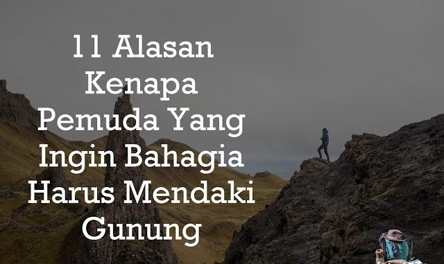 Kata Kata Perjuangan Mendaki Gunung