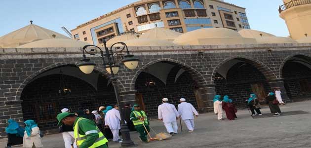 Masjid Al Ghamama in Madina