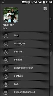 BBM Mod Dark Shadow V3.0.0.18 Apk Gratis Terbaru 2016