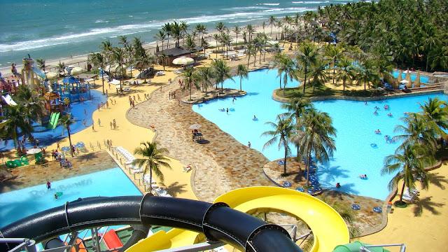 Beach Park en Fortaleza, Brasil