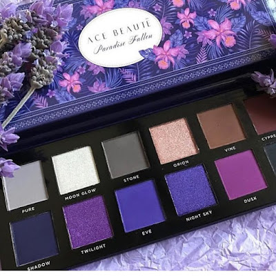 Ace Beaute purple palette