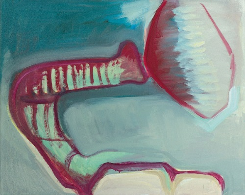 by Maria Lassnig - Autoritratto come elefante - 1991