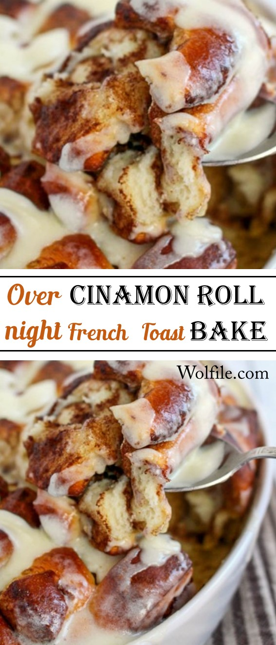Overnight Cinnamon Roll French Toast Bake Recipe