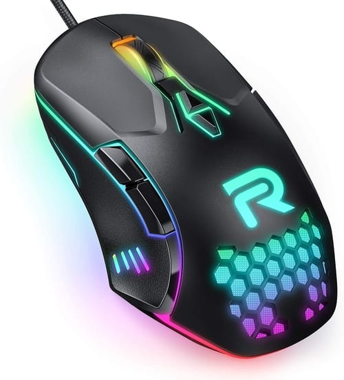 Review RUNMUS Gaming Mouse with 7 Programmable Buttons