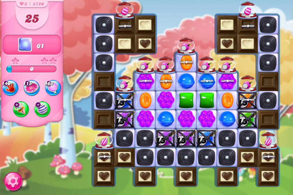 Candy Crush Saga level 5720