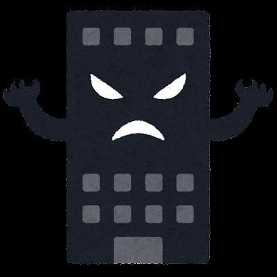 ブラック企業のキャラクター