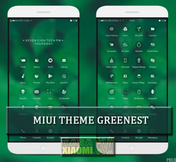 MIUI Theme Greenest Mtz V3.0 Design by Khemod [UPDATED]
