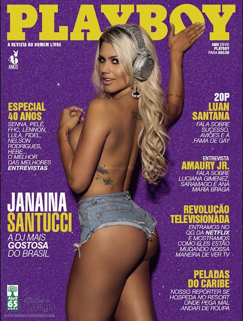 Fotos de Janaina Santucci nua na Playboy Brasil