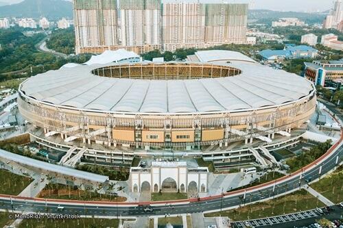 Stadium Nasional Bukit Jalil diiktiraf sebagai 'Stadium Of The Year'.