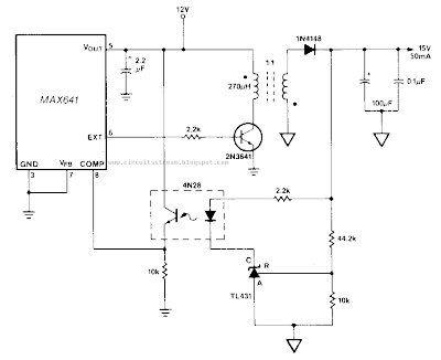 Build a Isolated DcDc Converter Circuit Diagram