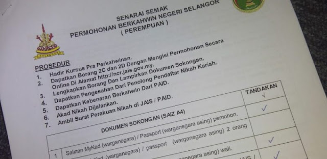 5 cara procedure nak nikah di malaysia
