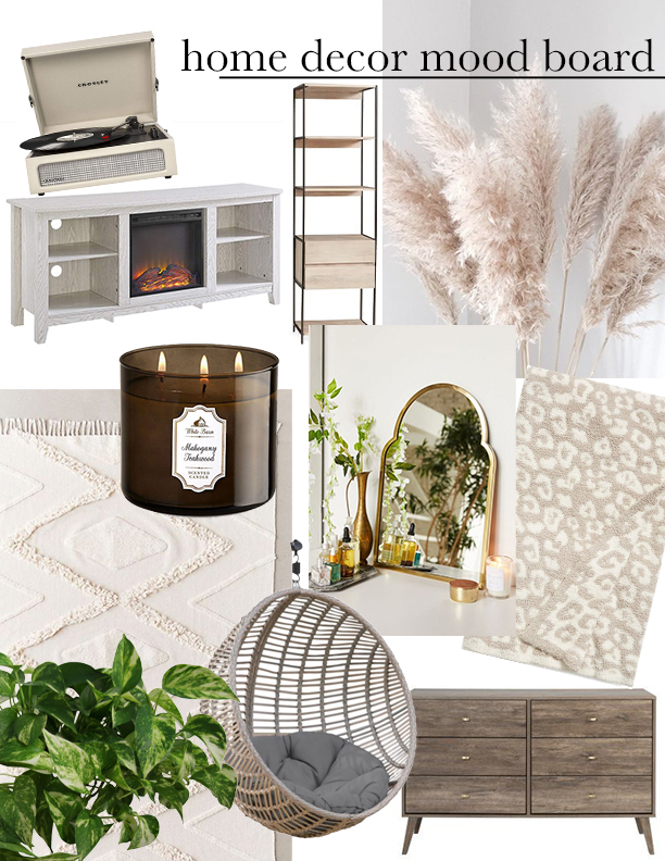 I'm Moving + Home Decor Mood Board