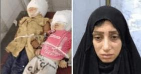 جريمة نهر دجلة .. ام عراقية  ترمي أطفالها في نهر دجلة