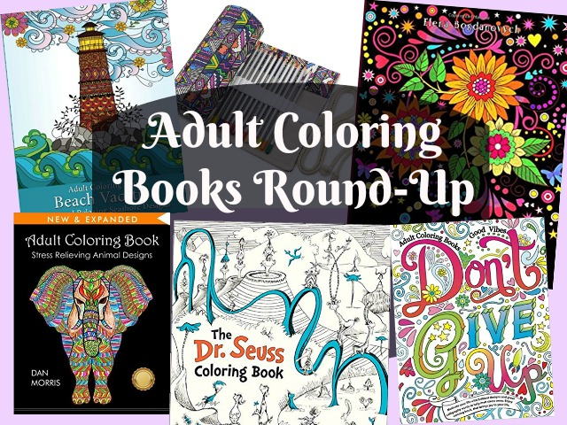 Adult Coloring Books round up Deals and To-Dos