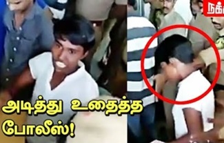 Activist Valarmathi attacked by Police