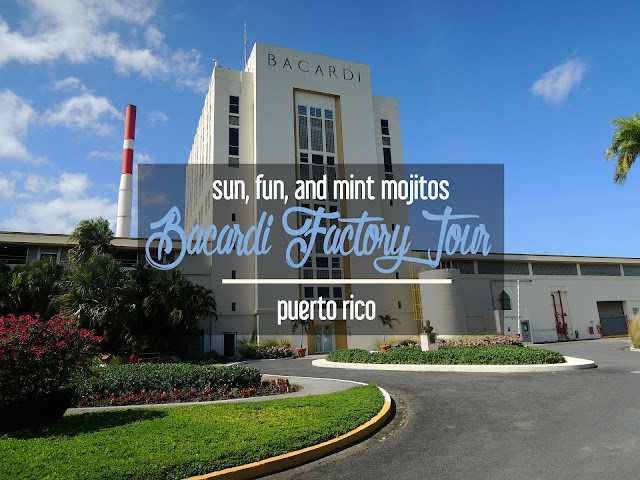 Sun, Fun, and Mint Mojitos: Bacardi Factory Tour, Puerto Rico | CosmosMariners.com