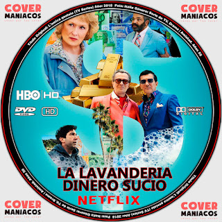 GALLETA LA LAVANDERIA DINERO SUCIO- THE LAUNDROMAT [COVER DVD]