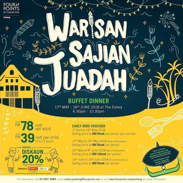 Warisan Sajian Juadah @ Four Points by Sheraton Puchong