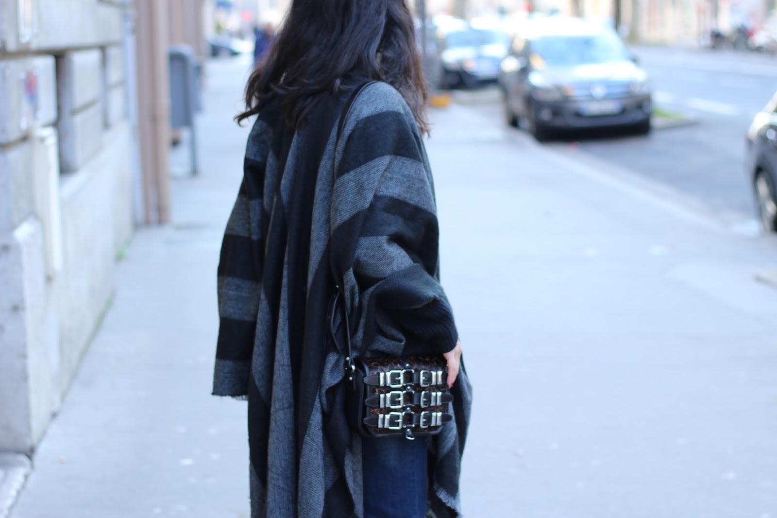 blog mode lyon, blog mode, blogueuse mode, poncho