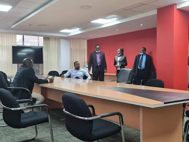 Deputy President William Ruto visit Jubilee headquarters