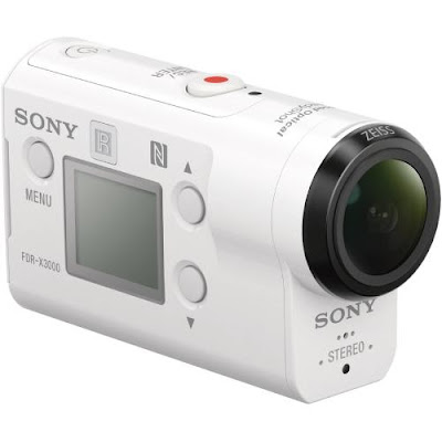 Action Camera Terbaik SONY 4K Action Cam Wi-Fi & GPS FDR-X3000
