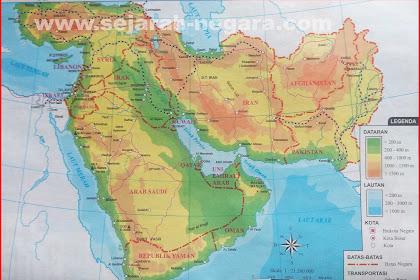 Peta Atlas Asia Barat 2018