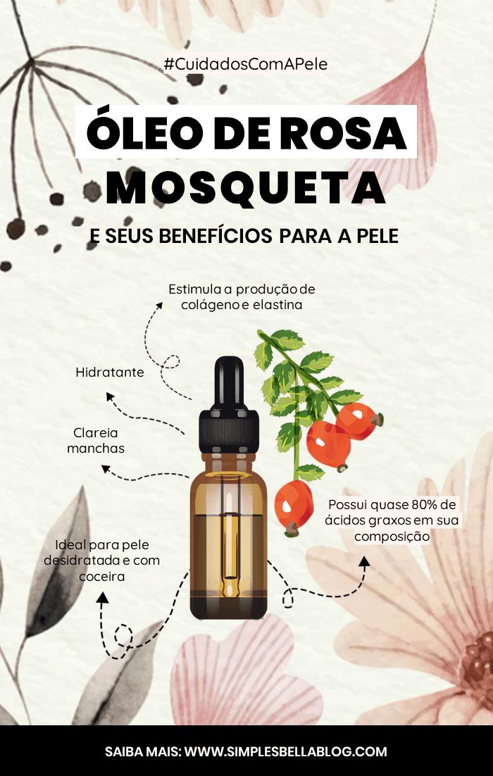 Quais os benefícios do Óleo de Rosa Mosqueta para a pele?