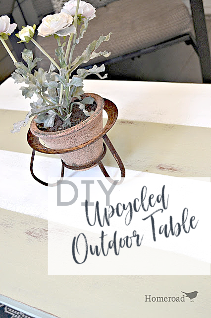 Striped table with pin overlay