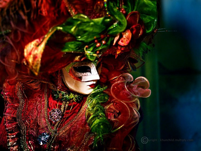 Венецианский карнавал. Suchet Suwanmongkol 13