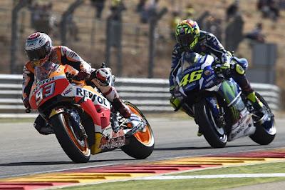 Marquez: Saya Hanya Sanggup Lawan Rossi di Lintasan